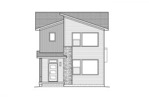 Teagan - Elevation C - Modern Elevation - 1,459 sqft, 2 Bedroom, 2.5 Bathroom - Cardel Homes Denver