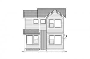 Voletta - Elevation A - Urban Farmhouse Elevation - 1,554 sqft, 2 Bedroom, 2.5 Bathroom - Cardel Homes Denver