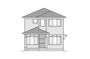 Voletta - Elevation B - Fusion Prairie Elevation - 1,554 sqft, 2 Bedroom, 2.5 Bathroom - Cardel Homes Denver