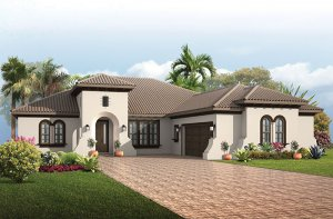 Toriana - Mizner Elevation - 2,514 - 2,874 sqft, 3 - 4  Bedroom, 2.5 - 3 Bathroom - Cardel Homes Tampa