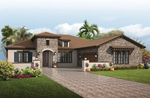 Toriana - Tuscan Elevation - 2,514 - 2,874 sqft, 3 - 4  Bedroom, 2.5 - 3 Bathroom - Cardel Homes Tampa