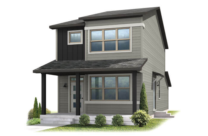 colette-a Elevation - 1,345 sqft, 2 Bedroom, 2.5 Bathroom - Cardel Homes Denver