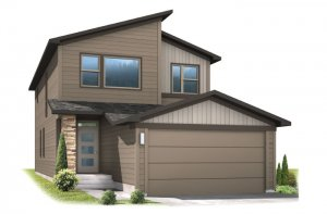 JETT-elev Elevation - 2,039 sqft, 3 Bedroom, 2.5 Bathroom - Cardel Homes Denver