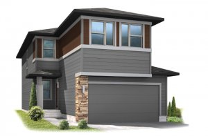TIEGO-elev Elevation - 2,065 sqft, 3 Bedroom, 2.5 Bathroom - Cardel Homes Denver