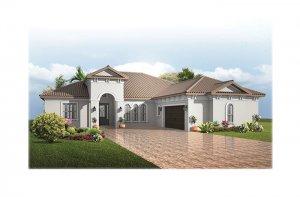 TorianaItalianVilla-700x460-2018 Elevation - 2,514 - 2,874 sqft, 3 - 4  Bedroom, 2.5 - 3 Bathroom - Cardel Homes Tampa
