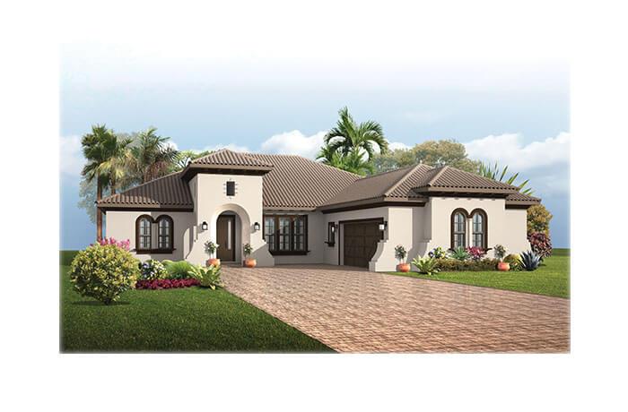 TorianaMizner-700x460-2018 Elevation - 2,514 - 2,874 sqft, 3 - 4  Bedroom, 2.5 - 3 Bathroom - Cardel Homes Tampa