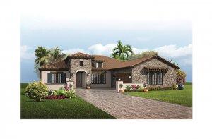 TorianaTuscan-700x460-2018 Elevation - 2,514 - 2,874 sqft, 3 - 4  Bedroom, 2.5 - 3 Bathroom - Cardel Homes Tampa