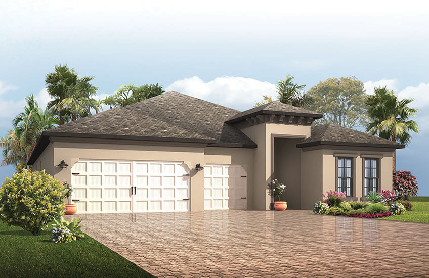 New Tampa Single Family Home Quick Possession Endeavor 3 in Waterset, located at 6514 MAYPORT DRIVE<br />