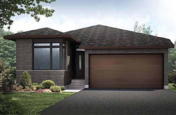 CAPELLA2-A3 Elevation - 1,611 sqft, 2 Bedroom, 2 Bathroom - Cardel Homes Ottawa