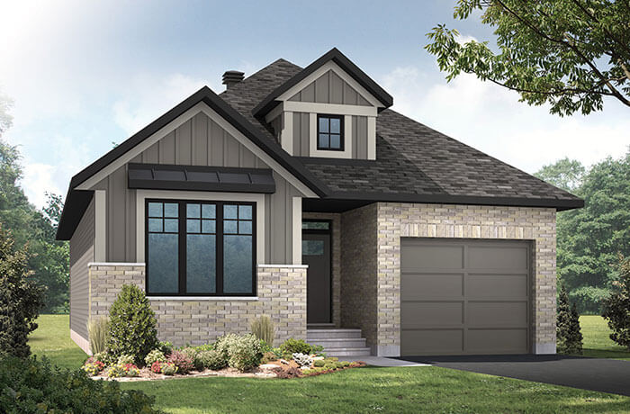 New home in LUCCA in Blackstone in Kanata South, 1,389 SQFT, 2 Bedroom, 2 Bath, Starting at  - Cardel Homes Ottawa