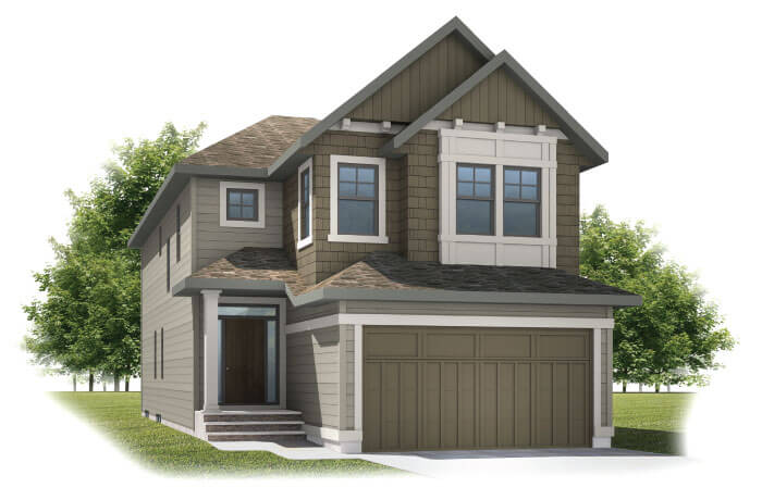 New home in MEDORA 2 in Shawnee Park, 2,399 SQFT, 4 Bedroom, 2.5 Bath, Starting at 770,000 - Cardel Homes Calgary