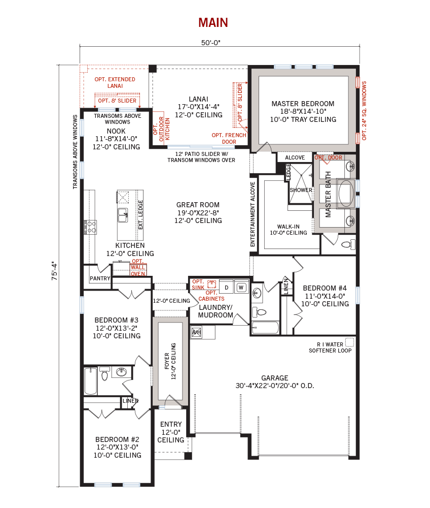 New Tampa Single Family Home Quick Possession Endeavor 3 Floorplan in Waterset, located at 6528 MAYPORT DRIVE<br /> APOLLO BEACH, FL 33572 Built By Cardel Homes Tampa