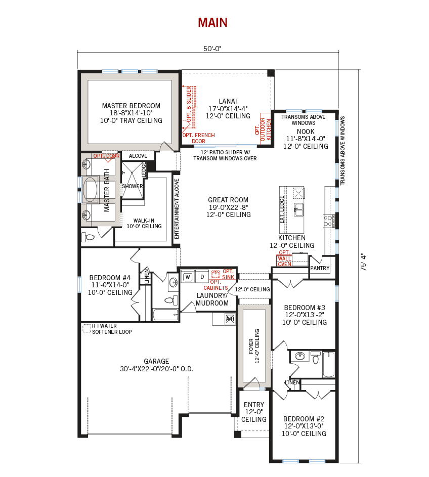 New Tampa Single Family Home Quick Possession ENDEAVOR 3 Floorplan in Country Walk, located at 4842 DIAMONDS PALM LOOP<br />