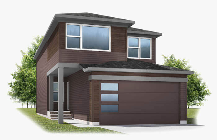 New Calgary Single Family Home Quick Possession Emerge in Walden, located at 131 Walden Heights SE Built By Cardel Homes Calgary