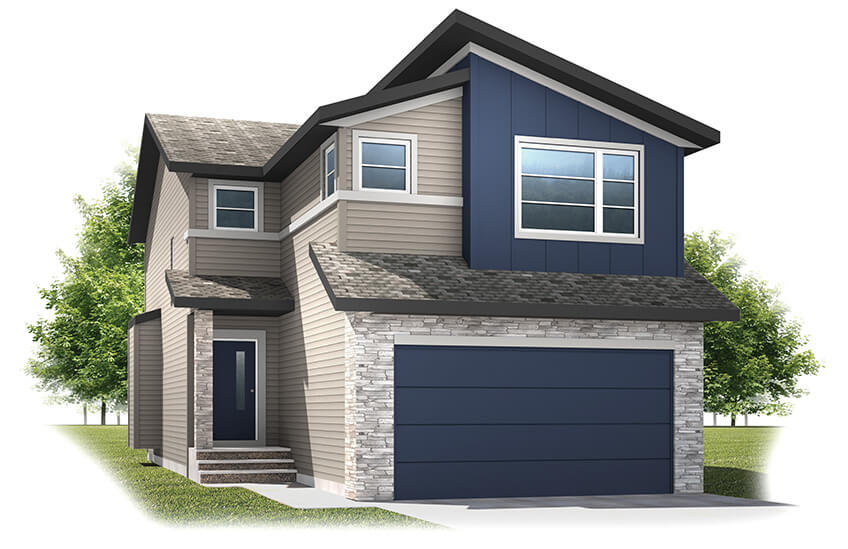New Calgary Single Family Home Quick Possession Orleans 3 in Walden, located at 37 Walden Way SE Built By Cardel Homes Calgary