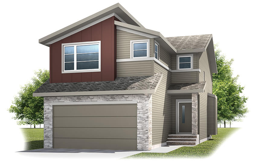 New Calgary Single Family Home Quick Possession Orleans 3 in Walden, located at 42 Walden Heath SE Built By Cardel Homes Calgary