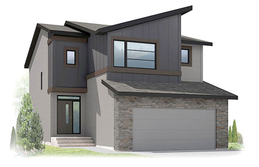 New Calgary Single Family Home Quick Possession Harmony in Walden, located at 46 Walden Heath SE Built By Cardel Homes Calgary