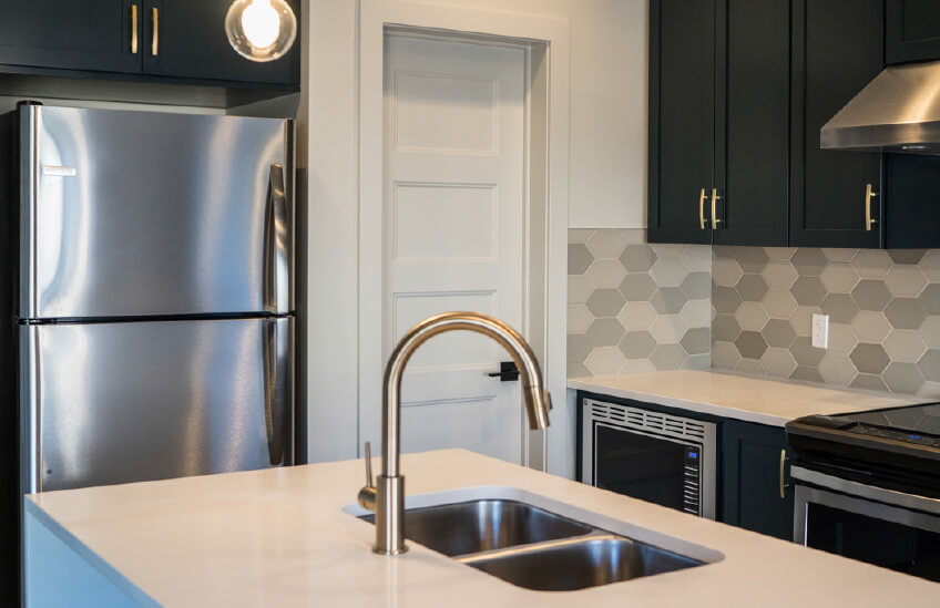 New Calgary Single Family Home Quick Possession Sandhurst 2 in Walden, located at 40 Walgrove Gardens SE Built By Cardel Homes