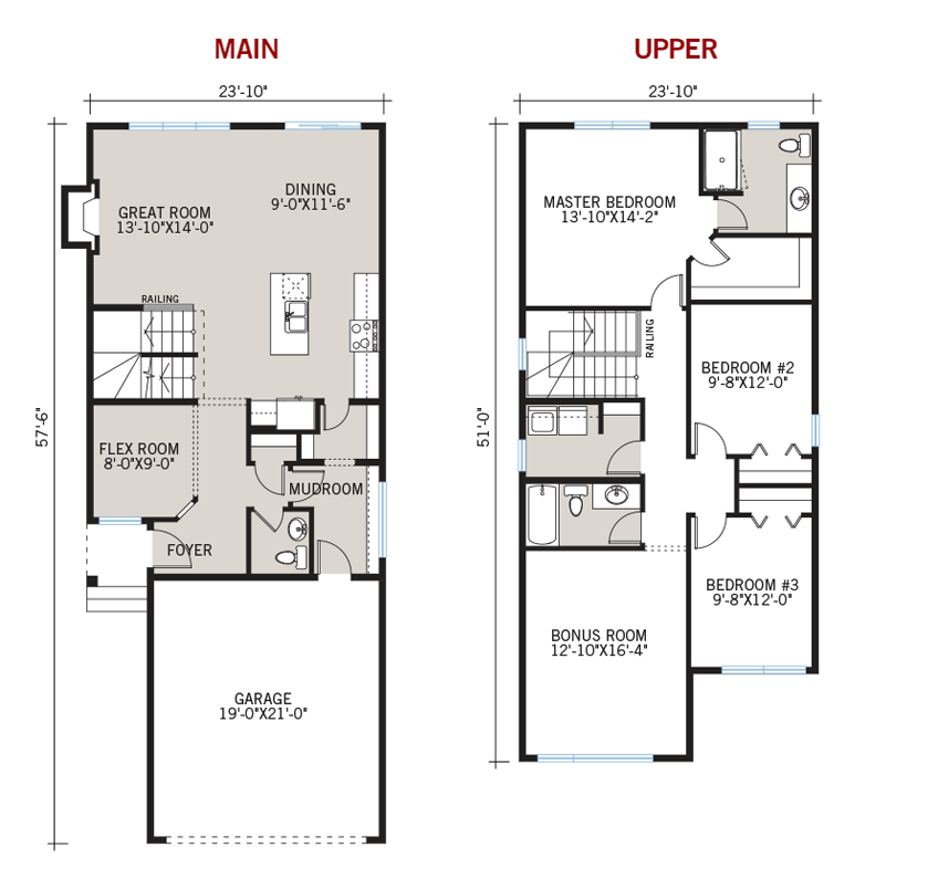 New Calgary Single Family Home Quick Possession Emerge Floorplan in Walden, located at 131 Walden Heights SE Built By Cardel Homes Calgary