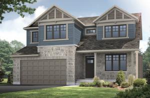 HARRISON-BS-PS - A1 Canadiana Elevation - 2,470 sqft, 4 - 5 Bedroom, 2.5 - 3.5 Bathroom - Cardel Homes Ottawa