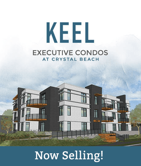 Keel executive condos at Crystal Beach now selling!