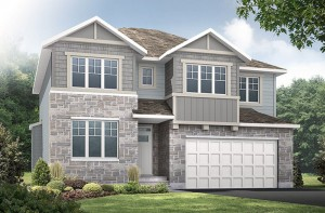 New home in LAUREL in Blackstone in Kanata South, 2,202 SQ FT, 4 Bedroom, 2.5 Bath, Starting at 537,000 - Cardel Homes Ottawa