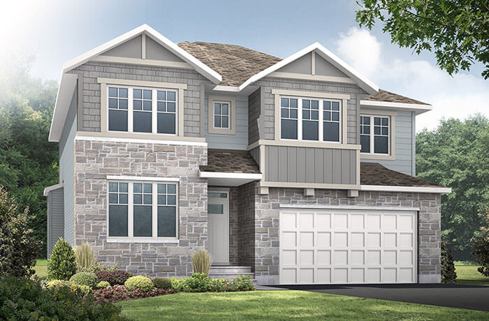 New home in LAUREL in Blackstone in Kanata South, 2,202 SQFT, 4 Bedroom, 2.5 Bath, Starting at 564,000 - Cardel Homes Ottawa