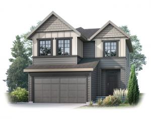 Miro2-S2-SP Elevation - 2,109 sqft, 3 Bedroom, 2.5 Bathroom - Cardel Homes Calgary