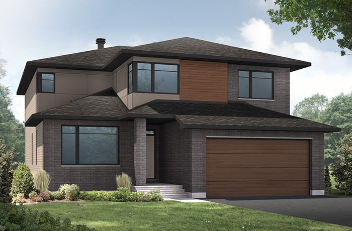 New home in RIDGECREST in Blackstone in Kanata South, 2,815 SQFT, 4 Bedroom, 2.5 Bath, Starting at 869,000 - Cardel Homes Ottawa