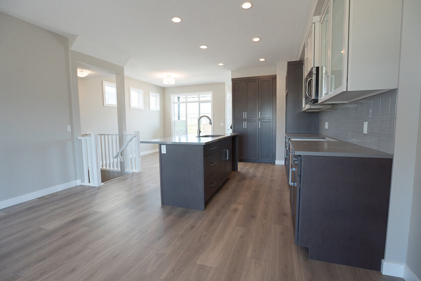 New Calgary Paired Home Quick Possession Indigo 2 in Walden, located at 24 Walgrove Drive SE Built By Cardel Homes