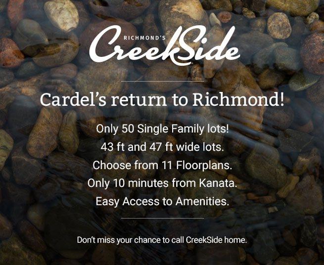 CreekSide - Cardel