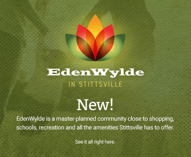 EdenWylde in Stittsville New! EdenWylde is a master-planned community close to shopping, schools, recreation and all the amenities Stittsville has to offer. See it all right here.