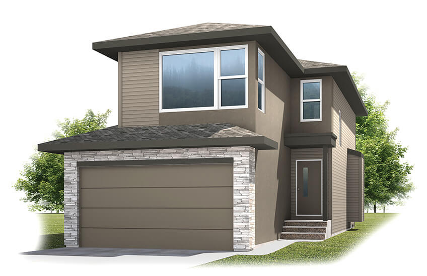 New Calgary Single Family Home Quick Possession Sandhurst 2 in Walden, located at 101 Walgrove Gardens SE Built By Cardel Homes Calgary