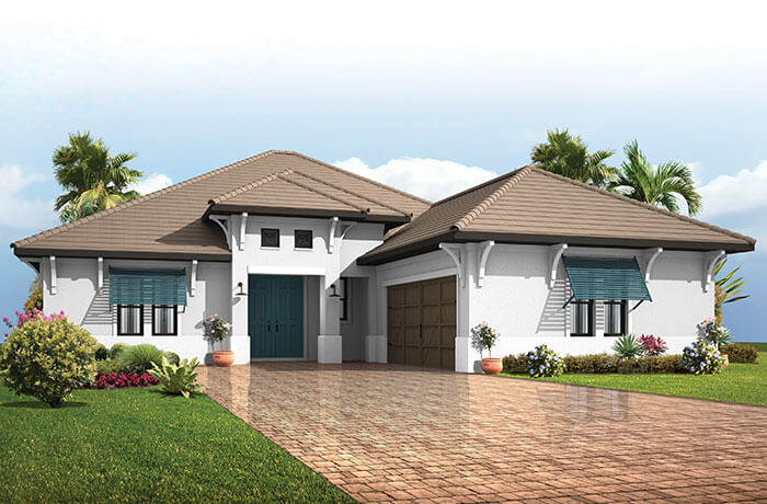 New home in BELLAMORE in Lakewood Ranch, 2,312 SQFT, 3 Bedroom, 2.5 - 3 Bath, Starting at 539,990 - Cardel Homes Tampa