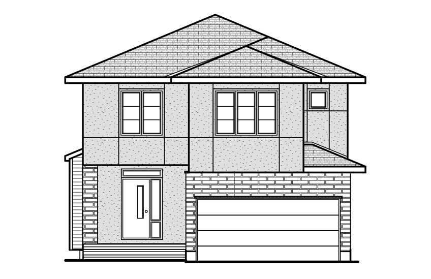 New Ottawa Single Family Home Quick Possession Devonshire 2 in Blackstone in Kanata South, located at 589 Rouncey Road, Kanata Built By Cardel Homes Ottawa