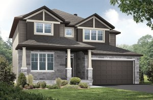 New home in OXFORD in Creekside, 2,552 SQ FT, 3 Bedroom, 2.5 Bath, Starting at 582000 - Cardel Homes Ottawa