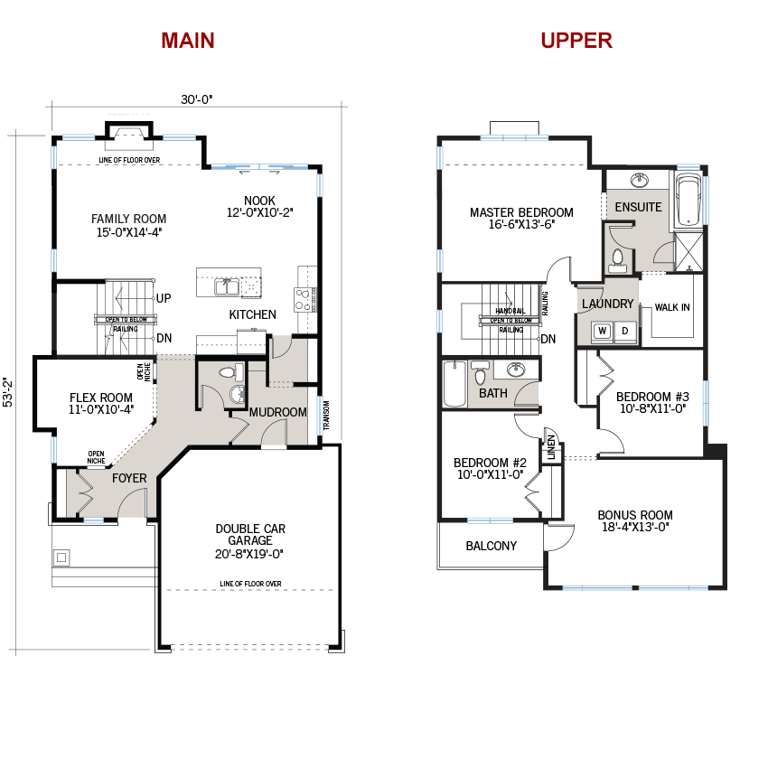 New Ottawa Single Family Home Quick Possession Inverness 2 Floorplan in Blackstone in Kanata South, located at 100 Westphalian Avenue, Kanata Built By Cardel Homes Ottawa