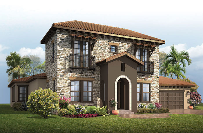 New home in WALDORF in Enclave at Lake Padgett, 3,661 - 3,672 SQFT, 4 - 5 Bedroom, 3.5 - 4 Bath, Starting at 659.990 - Cardel Homes Tampa