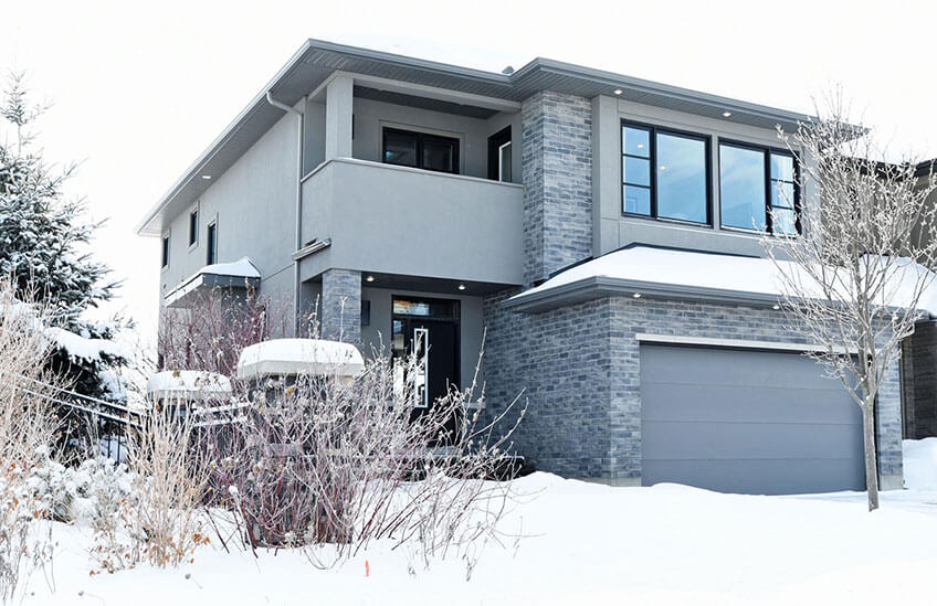 New Ottawa Single Family Home Quick Possession Inverness 2 in Blackstone in Kanata South, located at 100 Westphalian Avenue, Kanata Built By Cardel Homes Ottawa