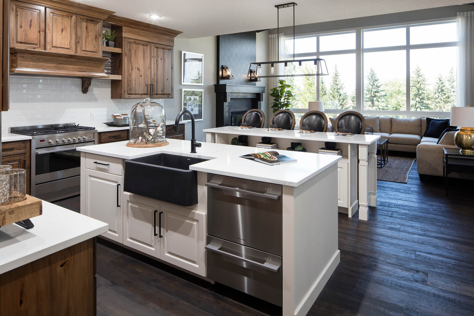 New Calgary  Model Home Selkirk 2 in Shawnee Park, located at 334 SHAWNEE BOULEVARD SW  Built By Cardel Homes Calgary