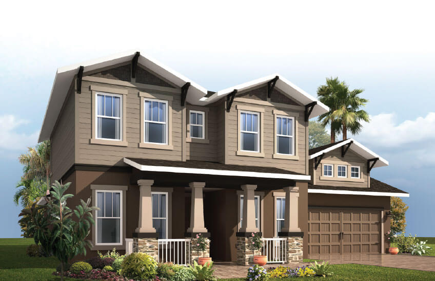 New Tampa Single Family Home Quick Possession Avalon 2 in Country Walk, located at 4513 POINTE O'WOODS DRIVE<br />