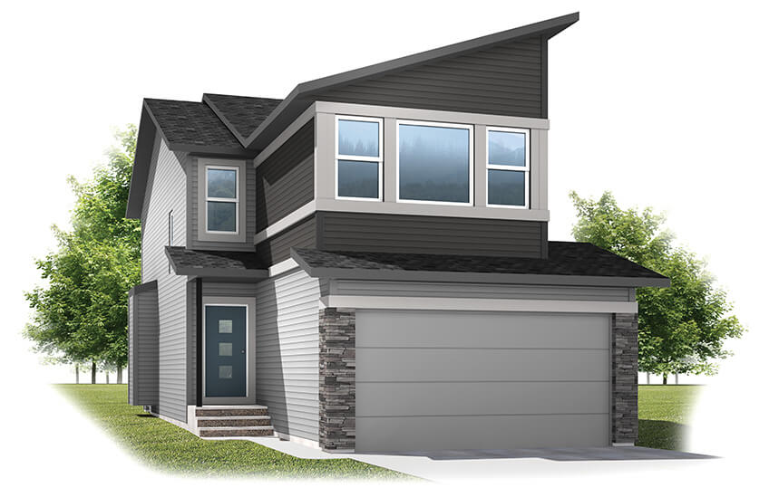 New Calgary Single Family Home Quick Possession Sandhurst 2 in Walden, located at 109 Walgrove Gardens SE Built By Cardel Homes Calgary