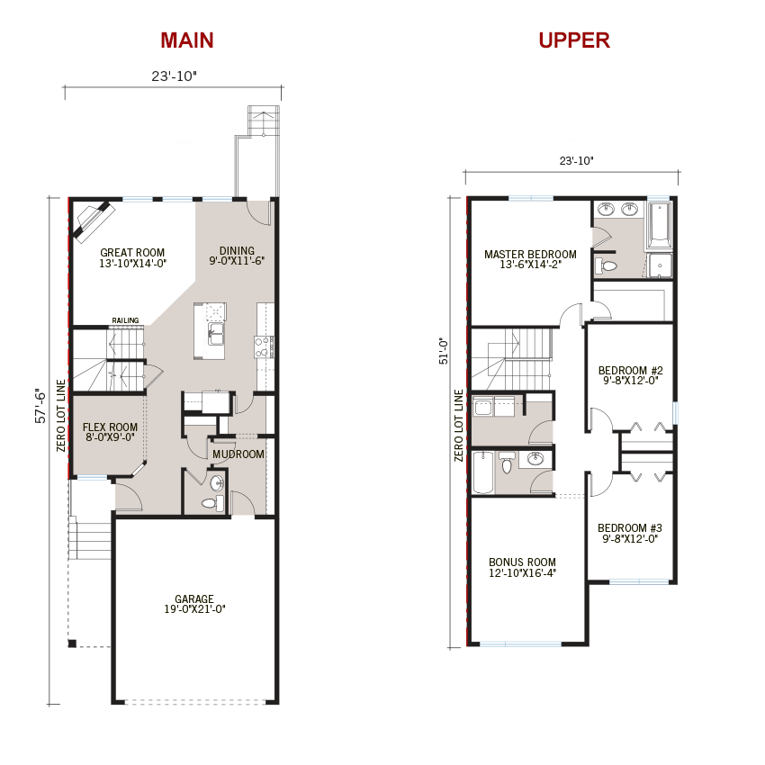 New Calgary Single Family Home Quick Possession Emerge Floorplan in Savanna, located at 75 Savanna Lane NE Built By Cardel Homes Calgary