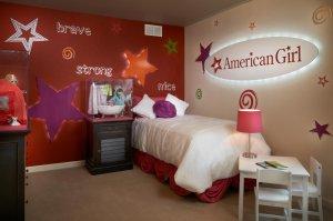 Casella Model American Girl Bedroom