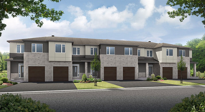 New Calgary Single Family Home Balsa in Shawnee Park, located at Unit 19 - 3 Riddell St Built By Cardel Homes Calgary