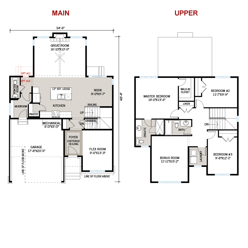 New Ottawa Single Family Home Quick Possession Cornell Floorplan in Millers Crossing in Carleton Place, located at 83 Ridell Street Built By Cardel Homes Ottawa