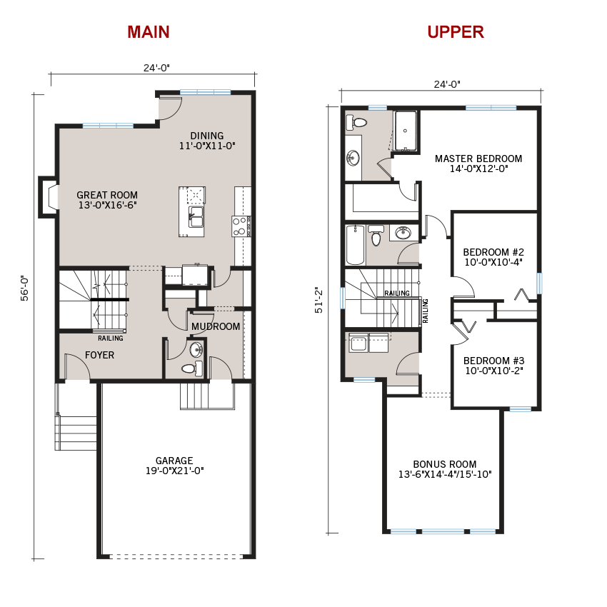 New Calgary Single Family Home Quick Possession Sandhurst 2 Floorplan in Walden, located at 109 Walgrove Gardens SE Built By Cardel Homes Calgary