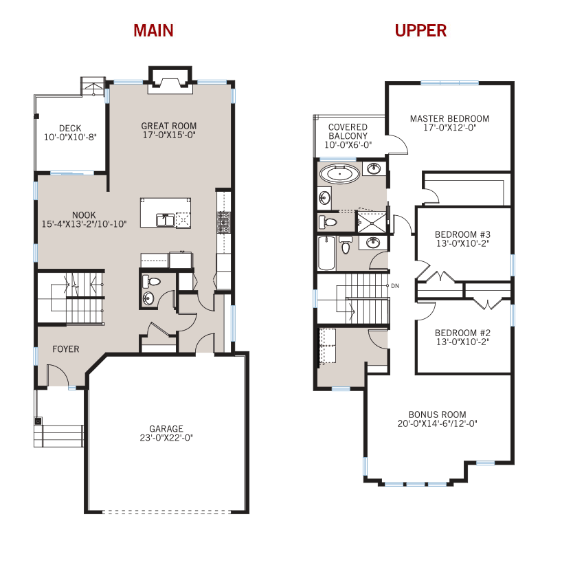 New Calgary Single Family Home Quick Possession Meyer Floorplan in Shawnee Park, located at 707 Shawnee Drive SW Built By Cardel Homes Calgary