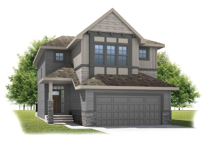 New Calgary Single Family Home Quick Possession Meyer in Shawnee Park, located at 707 Shawnee Drive SW Built By Cardel Homes Calgary