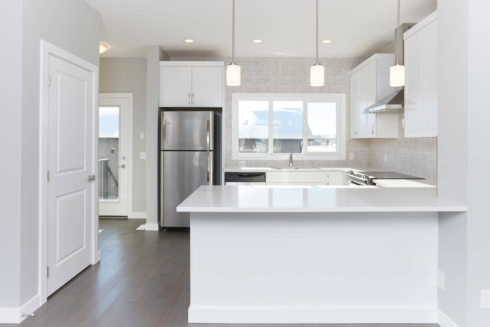 New Calgary Paired Home Quick Possession Cobalt 1 in Walden, located at 1310 Walden Drive SE Built By Cardel Homes Calgary